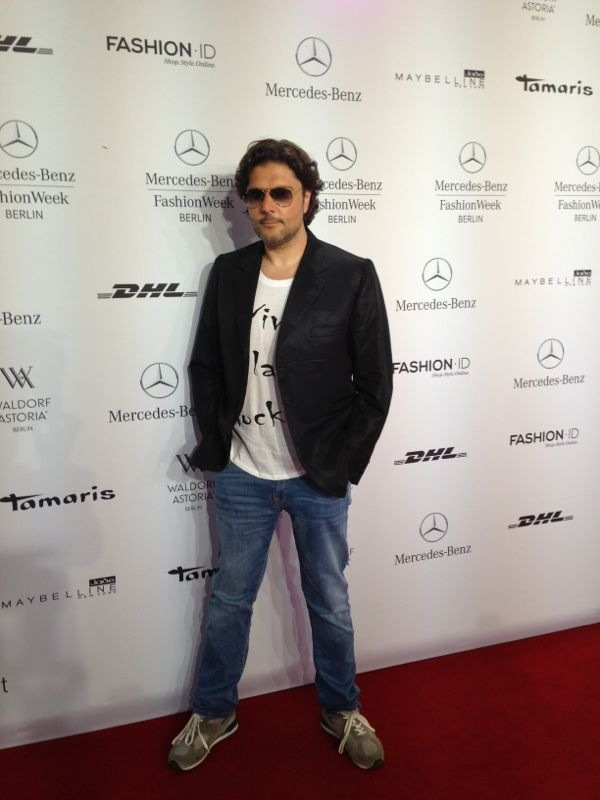 Massimo Giordano - Mercedes Benz Fashion Week