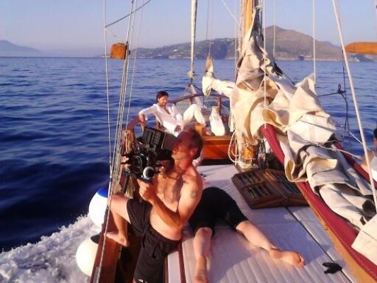 Riprese in esterna sulla costiera Amalfitana