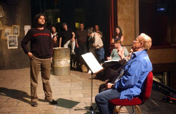 Prove con Franco Zeffirelli a Roma